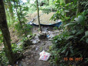 Vraem: Destruyen tres pozas de maceración de hoja de coca