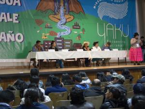 Analizan situación del recurso hídrico en el Perú