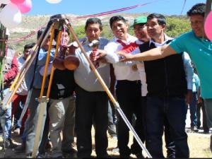 Ayacucho: Dan inicio a obras de saneamiento básico en Jesús Nazareno