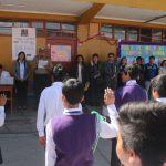 Ayacucho: Juramentan brigadas escolares en cuidado del medio ambiente