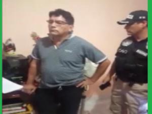 Capturan al alcalde de Tocache por delito de colaboración con el terrorismo