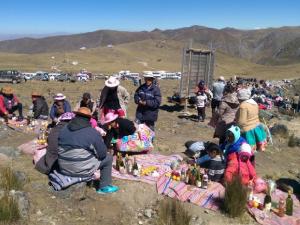Celebran inicio de festividad de Santiago en ACR Huaytapallana