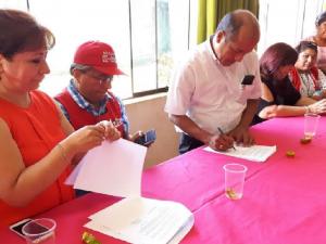 Entregan donativo para hogar refugio temporal en Tambopata