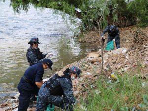 Huánuco: Realizan jornada de limpieza en los ríos Higueras y Huallaga