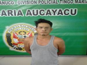 Leoncio Prado: Capturan a dos requisitoriados