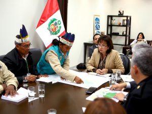 Líderes indígenas se reúnen con Minam solicitando categorización de Yaguas como parque nacional