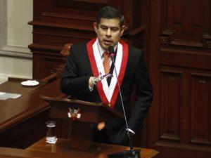 Luis Galarreta es el nuevo presidente del Congreso de la República