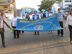 Madre de Dios: Ministerio Público participa en campaña contra la trata de personas