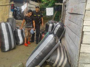 Monzón: Decomisan insumos usados para fabricación de cocaína