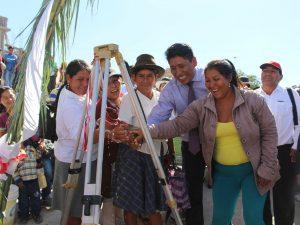 Ayacucho: Inician obras de proyecto de saneamiento básico en Jesús Nazareno