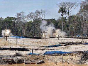 Prosigue operativo contra minería ilegal en zona de amortiguamiento de RN Tambopata