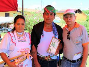 """""""Cayhua rellena con sacha inchi"""" ganó concurso gastronómico en Lamas"""