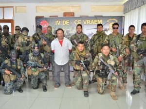 Vraem: Capturan a sujeto involucrado en tráfico de drogas