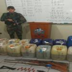 Vraem: Destruyen laboratorio de procesamiento de clorhidrato de cocaína