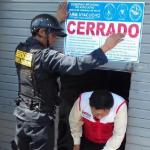 Clausuran boticas sin autorización sanitaria en Jesús Nazareno