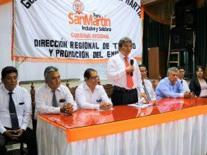 Inauguran servicio descentralizado de teletrabajo en San Martín