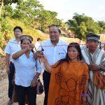 Inauguran vía de comunicación en comunidad nativa del Vraem
