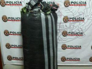 Leoncio Prado: Policía decomisa 50 kilos de hoja de coca