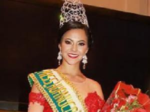 Nicol Lambruschini fue elegida Miss Huánuco 2017