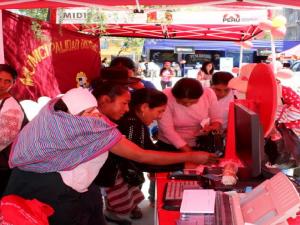 Ayacucho: Realizan primera feria nutricional en Jesús Nazareno