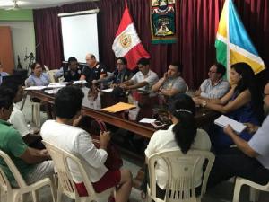 Coordinan acciones ante emergencias y desastres en San Martín