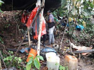 Detienen a seis personas por minería ilegal en Tingo María