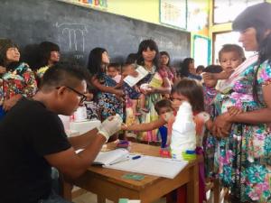 Facilitan servicios sanitarios a comunidades nativas amazónicas del río Pastaza