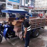 Leoncio Prado: Incautan producto madedero
