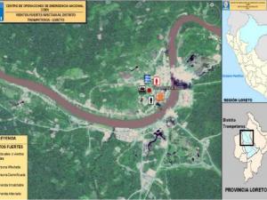 Loreto: Coordinan entrega de ayuda humanitaria a damnificados por vientos