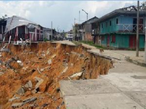 Loreto: Inspeccionan zona afectada por crecida del río Putumayo