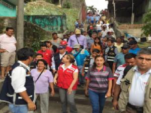 Loreto: Midis entrega ayuda humanitaria a damnificados por incendio