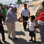 Primera dama se sumó a campaña humanitaria en el Vraem