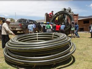 Ayacucho: Entregan equipos para riego a comunidad de Escorno