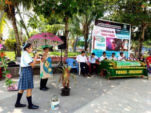 Ayacucho: Escolares de Sivia participan en concurso ambiental de canto y poesía