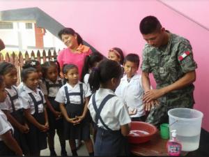 Capacitan a soldados para apoyar en acciones de salud pública en casos de desastres