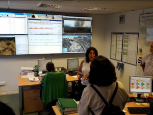 Delegación peruana se instruye en España sobre control de incendios forestales