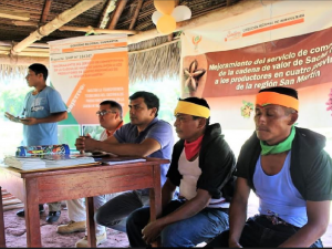 Desarrollan encuentros para fortalecer agro sanmartinense