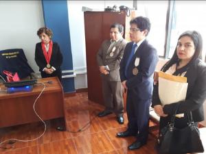 Fiscalía Suprema de Control Interno realizó visita a distrito fiscal de Madre de Dios