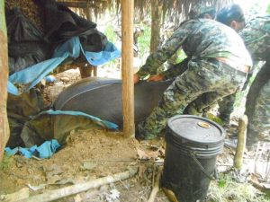 Fuerzas del orden da duro golpe al narcotráfico y a remanentes terroristas en el Vraem