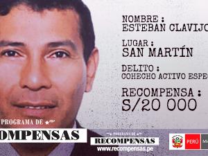 Hay 82 requisitoriados del programa de recompensas en San Martín