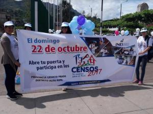 INEI recuerda inamovilidad de la población durante el censo del domingo