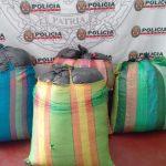 Leoncio Prado: Policía decomisa más de 100 kilos de hoja de coca