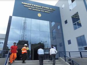 Madre de Dios: Ministerio Público inició recepción de nuevo edificio institucional