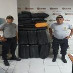 Policía decomisa 250 kilos de hoja de coca en Leoncio Prado