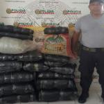 Policía decomisó 150 kilos de hoja de coca en Leoncio Prado