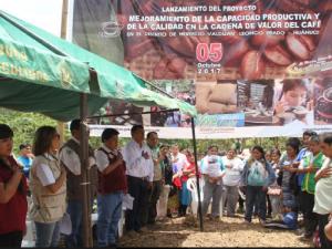 Presentan proyectos de mejoramiento de café y de cacao en Huánuco