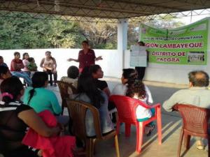 Promueven rol de mujeres en la prevención de desastres