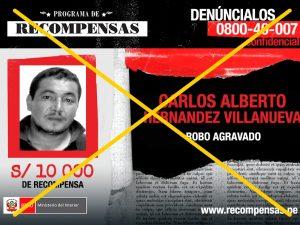 Tarapoto: Capturan a requisitoriado por robo agravado