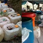 Vraem: Destruyen dos laboratorios clandestinos de procesamiento de droga en Pichari