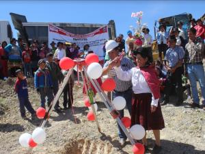 Ayacucho: Centro Poblado de Colpapampa tendrá moderno centro de salud